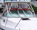 Boston Whaler 28 Conquest Hard-Top Visor and Side Curtains