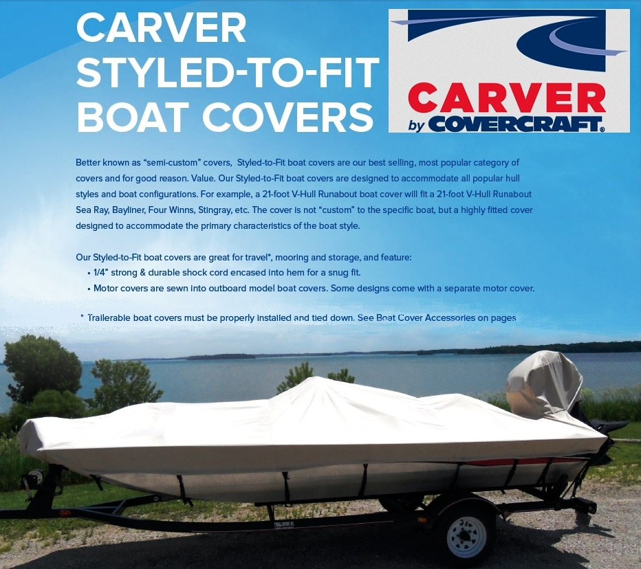 Great Quality Boat Cover for Seaswirl Boats SSV175 1978 1979