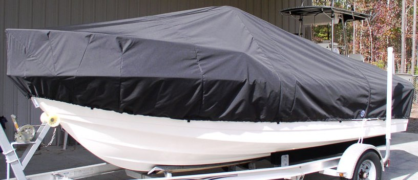 Edgewater 188CC 20xx Boat-Cover-LCC, port-front