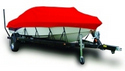 Red Sunbrella Exact-Fit� Boat Cover