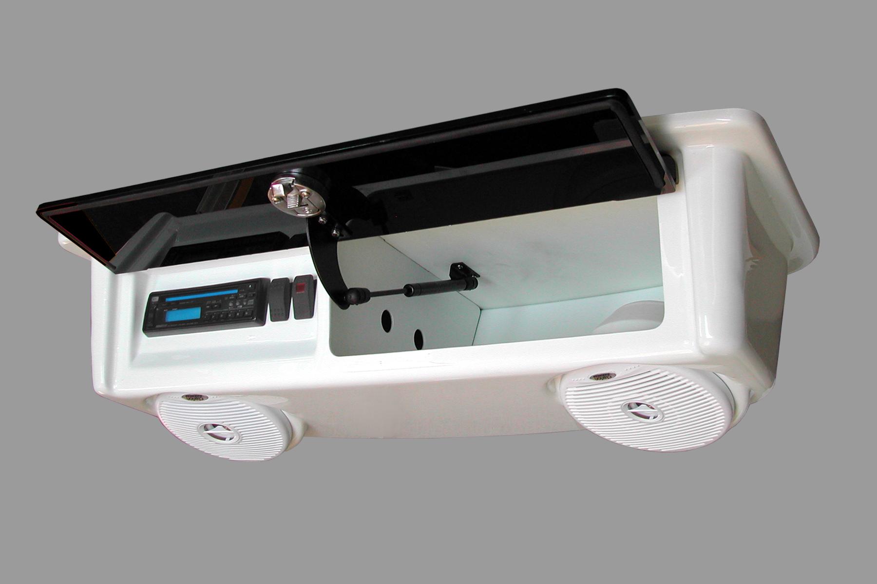 T Top Fiberglass Marine Boat Electronics Box Enclosure