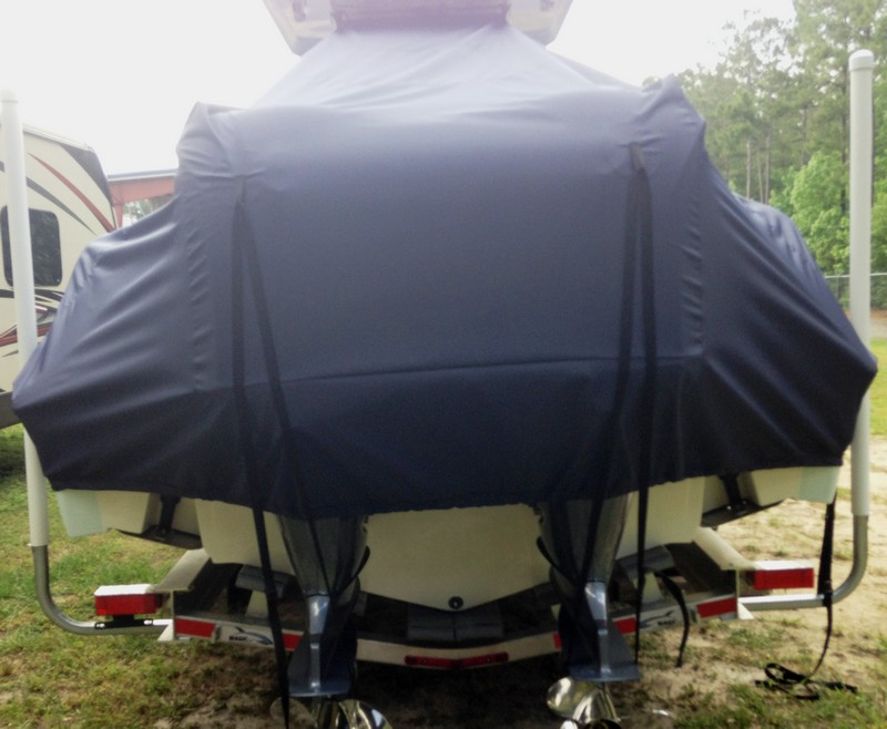 Sea Fox® 288CC-Commander 20xx T-Top-Boat-Cover,, rear