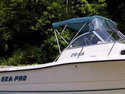 Sea Pro 210WA Bimini-Spray-Shield