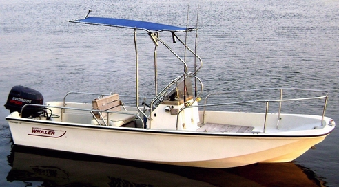 Picture of Montauk-T-Topless™ Rod Holders on Montauk 17