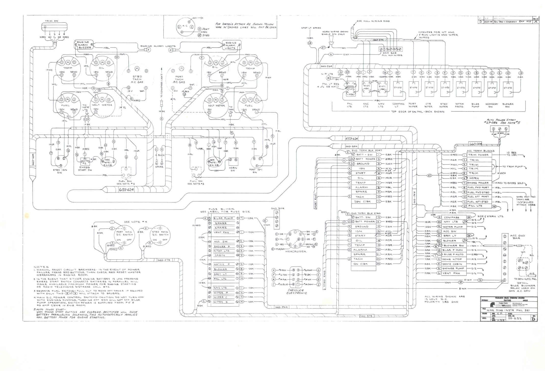 Original F-32 Schematics And Wiring Diagrams