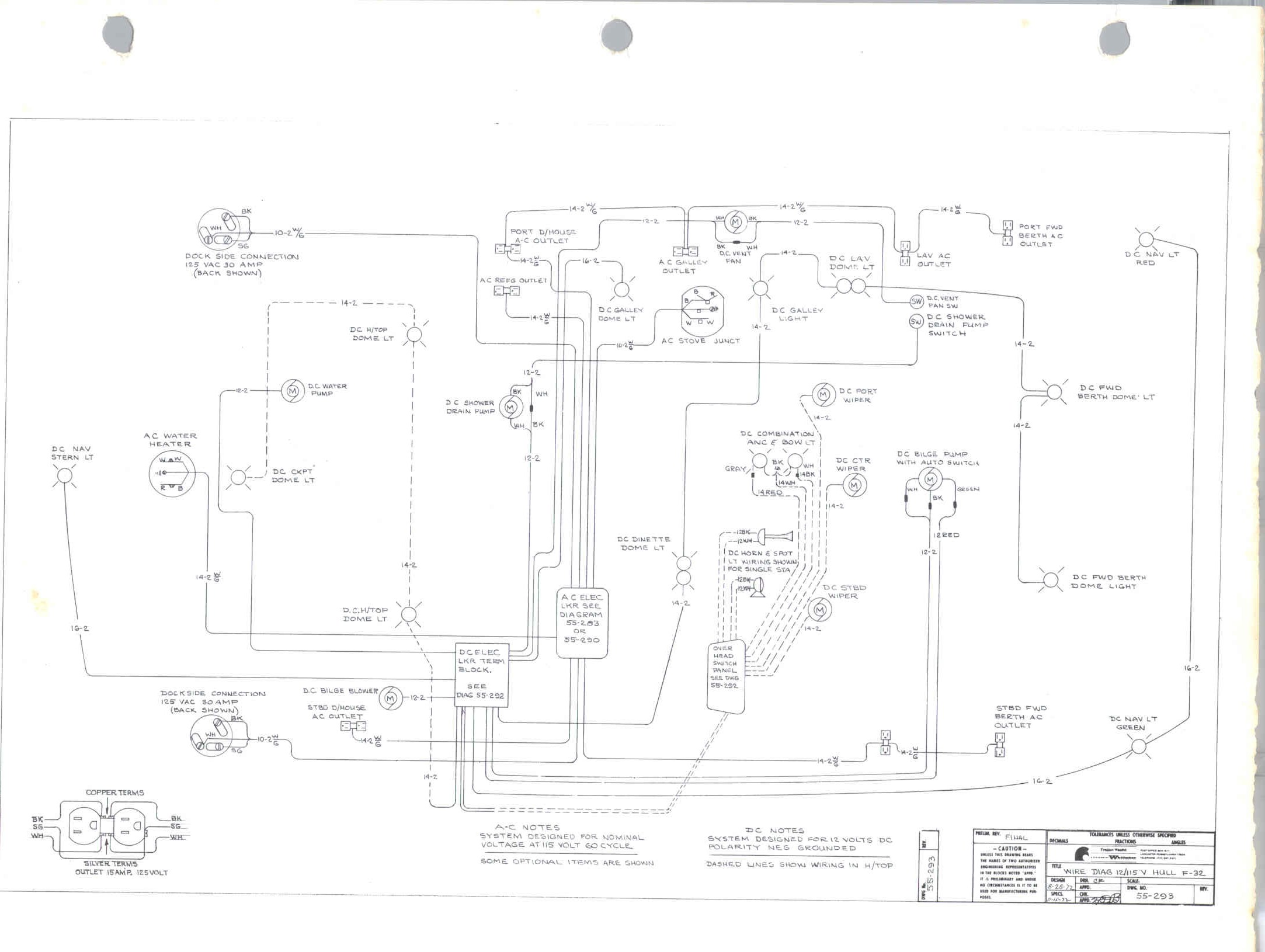 1974 Trojan F32 Wiring Diagram - The Hull Truth