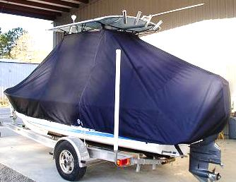 Albury Brother, 20, 20xx, TTopCovers™ T-Top boat cover, port rear