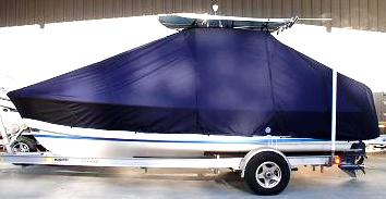 Albury Brother, 20, 20xx, TTopCovers™ T-Top boat cover, port side