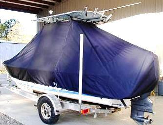 Albury Brothers, 20, 20xx, TTopCovers™ T-Top boat cover, port rear