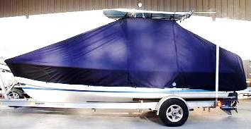 Albury Brothers, 20, 20xx, TTopCovers™ T-Top boat cover, port side