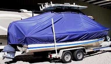 Albury 23, 20xx, TTopCovers™ T-Top boat cover, starboard rear
