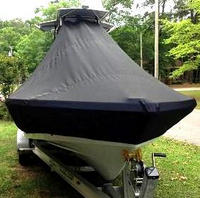 Photo of Blackjack 224 20xx T-Top Boat-Cover-Bow