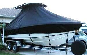 Bluewater 2150, 19xx, TTopCovers™ T-Top boat cover, starboard front