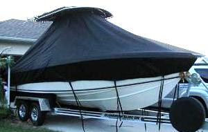 Bluewater 2150, 20xx, TTopCovers™ T-Top boat cover, starboard front