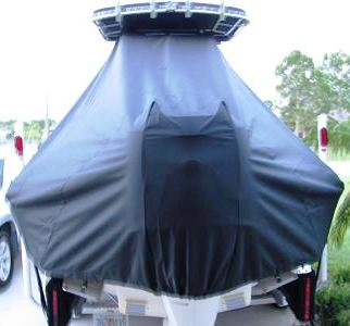 Bluewater 2150, 20xx, TTopCovers™ T-Top boat cover stern