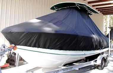 Bluewater 2350, 19xx, TTopCovers™ T-Top boat cover, port bow