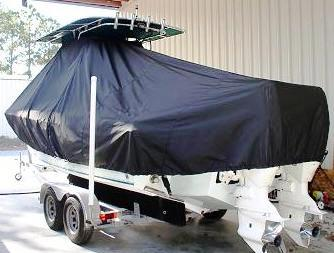 Bluewater 2350, 19xx, TTopCovers™ T-Top boat cover, port rear
