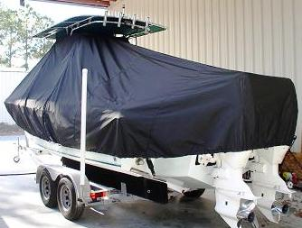 Bluewater 2350, 20xx, TTopCovers™ T-Top boat cover, port rear