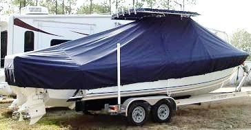 Bluewater 2550, 19xx, TTopCovers™ T-Top boat cover, starboard rear