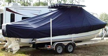 Bluewater 2550, 20xx, TTopCovers™ T-Top boat cover, starboard rear