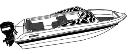 Carver® 77020A Styled-To-Fit™ Boat Cover for Grady White® TOURNAMENT
