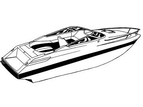 Carver® 77718A Styled-To-Fit™ Boat Cover for Bayliner® Capri