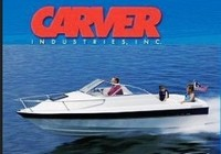 Boat-Cover-CSF-Model™Carver(r) 777xx series Styled-To Fit(tm) boat cover (for V-hull, Low Profile Cuddy Cabin boat with Windshield and Bow Rails (18-21ft=12-inch, 21ft+=24inch); I/O sterndrive) provides a GUARANTEED Fit