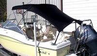 Boat-Shade-Kit-Bimini Slant Back Setup