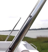 Boat-Shade-Pole™One(1) Replacement telescoping pole for Boat Shade Kit