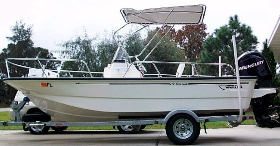 Boston Whaler 170 Montauk, 2009, Montauk-T-Topless™