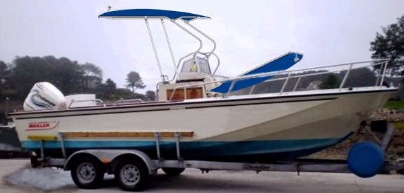 Boston Whaler 22 Outrage, 1989, Montauk-T-Topless™