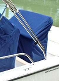Photo of Boston Whaler All Boats 20xx Reversible Pilot Seat Cover
