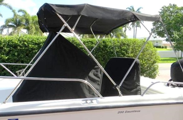 Boston Whaler® Dauntless 200 Console-Cover-No-T-Top-OEM & Console Cover No T-Top (Factory OEM) for Boston Whaler® Dauntless ...