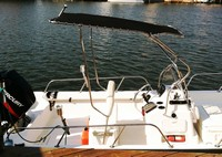 Photo of Boston Whaler Montauk 170, 2004: Montauk T-Topless™ Folding T-Top