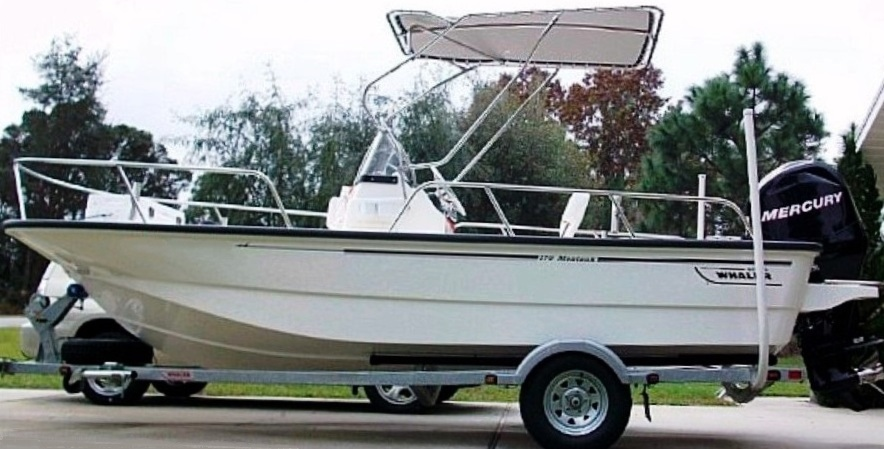 Boston Whaler Montauk 170, 2009, Montauk-T-Topless™