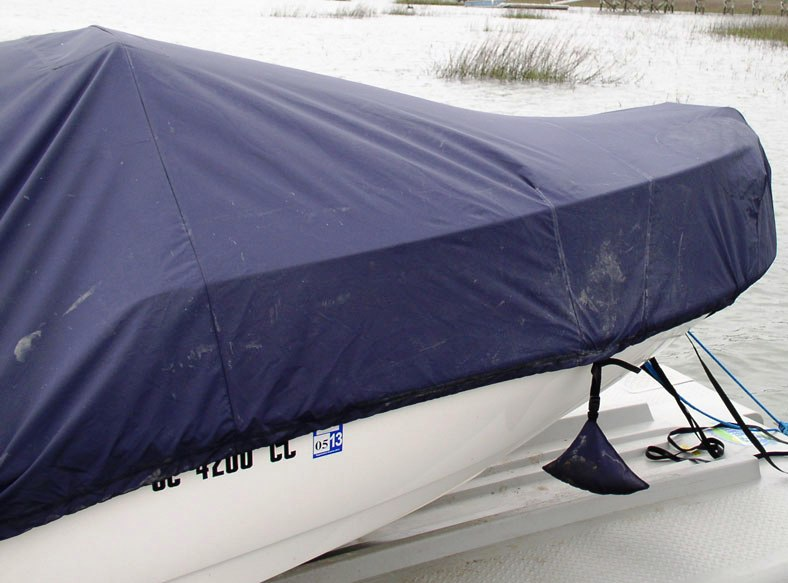Boston Whaler® Montauk-170 20xx Boat-Cover-LCC bow, starboard-side close-up