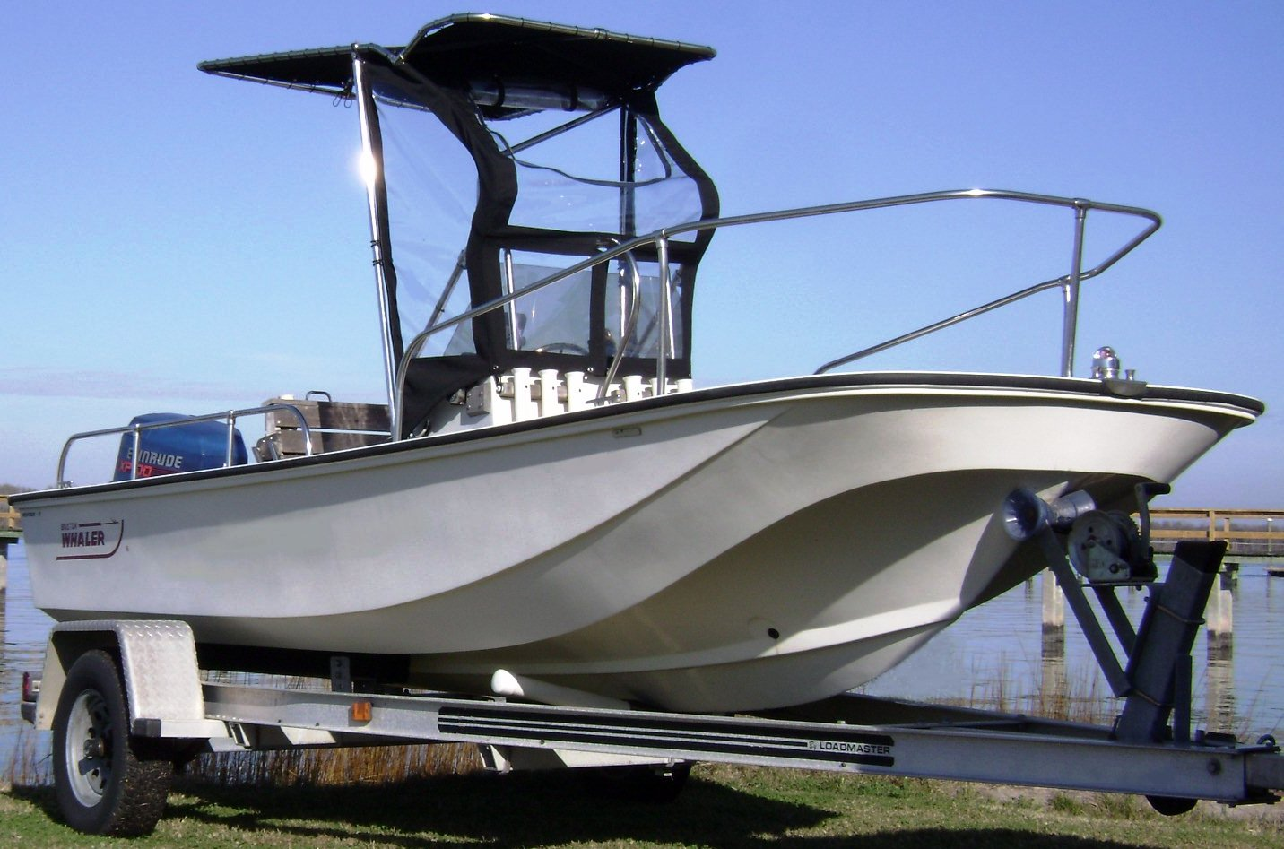 Boston Whaler Montauk 17, 1982, Montauk-T-Topless™ Spray Shield