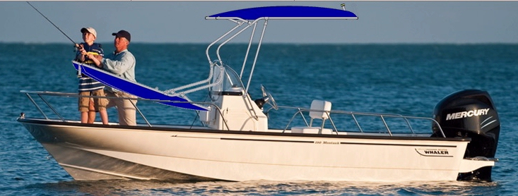 Boston Whaler Montauk 190, 2012, T-Topless™