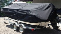LaPortes™ Boston Whaler, Montauk 190, 20xx, Boat Cover LCC, port rear