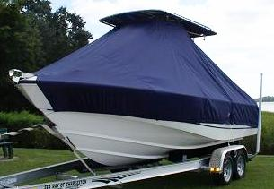 Boston Whaler Outrage 210, 20xx, TTopCovers™ T-Top boat cover