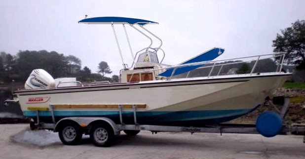 Boston Whaler Outrage 22, 1989, Montauk-T-Topless™