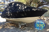 TTopCovers™ Boston Whaler, Vantage 230, 20xx, T-Top Boat Cover, stbd front