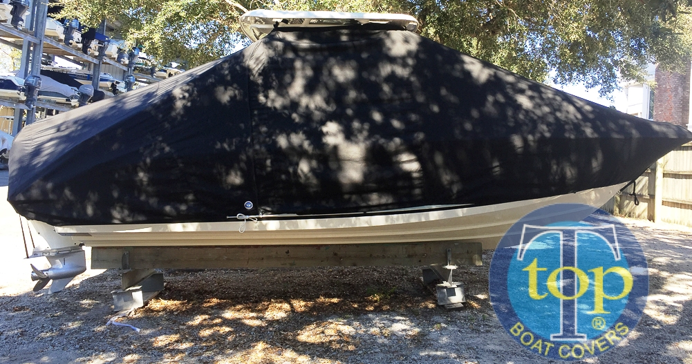 Boston Whaler Vantage 230, 20xx, TTopCovers™ T-Top boat cover, starboard side