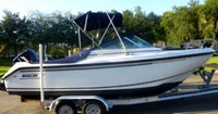 Boston Whaler, Ventura 180, 2002, Bimini Top, Cockpit Cover, rear