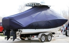 Cape Horn 24XS, 2013, TTopCovers™ T-Top boat cover, starboard rear