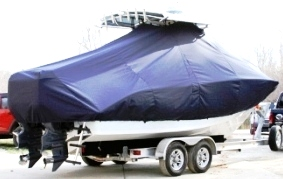Cape Horn 24XS, 20xx, TTopCovers™ T-Top boat cover, starboard rear