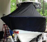 Photo of Cape Horn 27XS 20xx T-Top Boat-Cover, Front