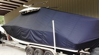 Cape Horn, 31T Tournament, 20xx, Hard Top, T-Top Boat Cover, port rear