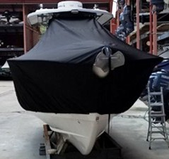 Cape Horn 31XS, 20xx, TTopCovers™ T-Top boat cover front