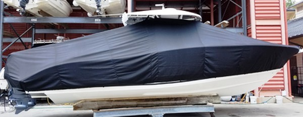 Cape Horn 32, 20xx, TTopCovers™ T-Top boat cover, starboard side